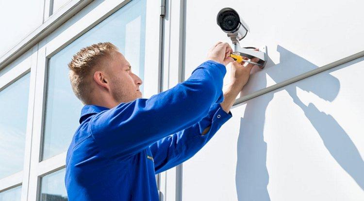 installation-of-security-cameras