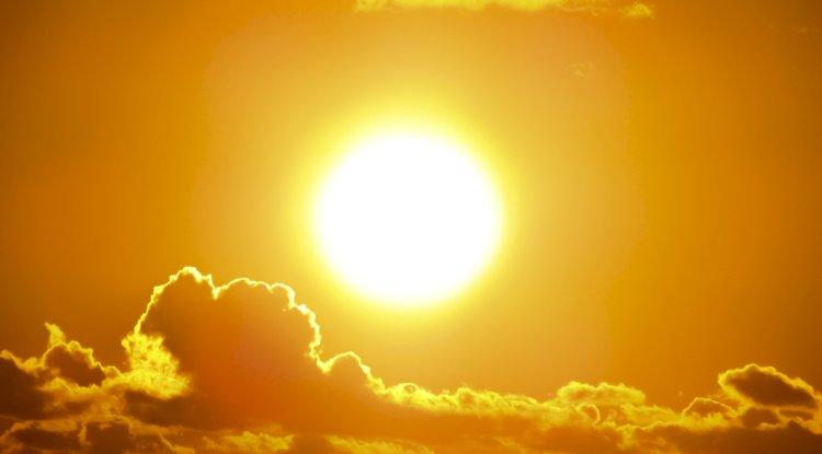 The sun.
