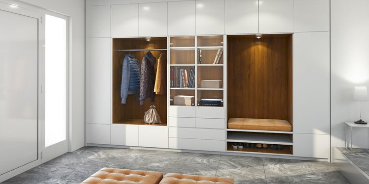 Built-in wardrobe For Your Room Renovation (Ja Aluminium Glass)