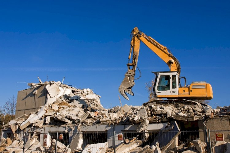 The Process Of House Demolition