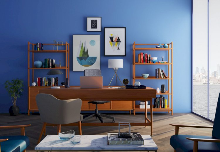 Jazz Up Your Home With Blue Furniture And Accents