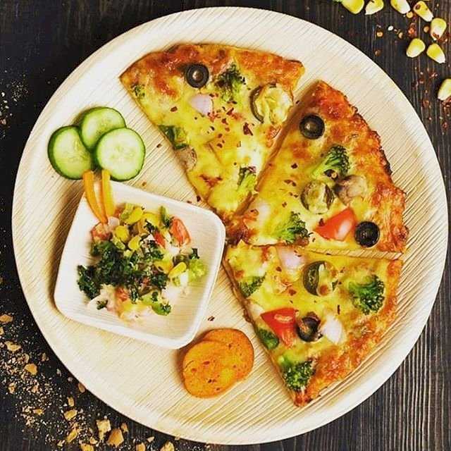 Why Areca Leaf Plate Called A Pizza Plate