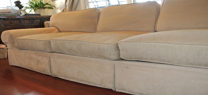 How Can You Clean a Sweaty Sofa?