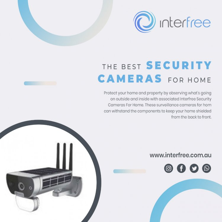 Security Cameras for home | Australian Manufactured | Interfree