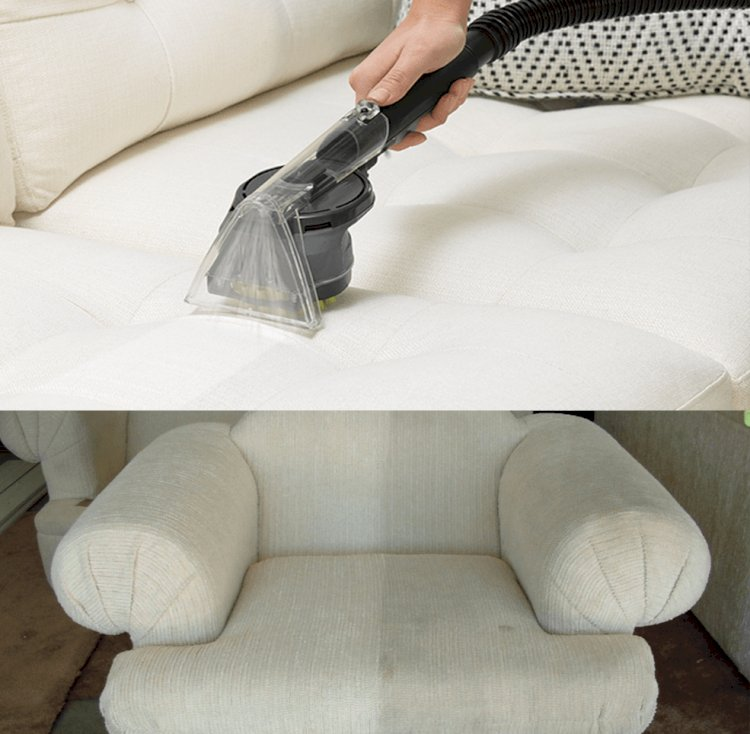 Professional Upholstery Cleaning Tools and Services