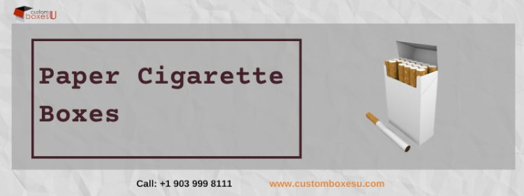Paper cigarette boxes for sale With free Shipping in Texas, USA